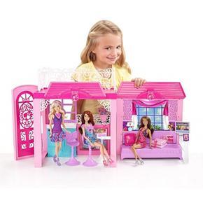 Muñeca De La Barbie Casa Playa Con LA53j4Rq