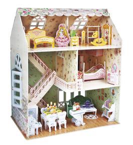 Manualidedos puzzle 3d casa de mu ecas - La casa del puzzle madrid ...