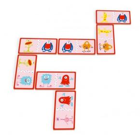 Domino Infantil De Monstruos Scratch
