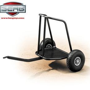 Stand-up Más Trailer Frame Color Negro Para Kart Berg Toys