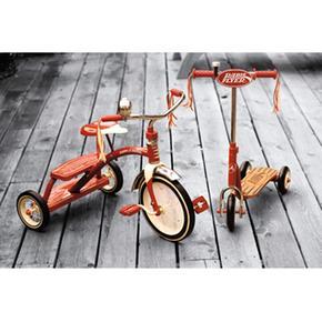 Flyer Trikespannbsp; Clásicospan Red Deck nbsp;triciclo Dual Classic Radio mOvNw80n