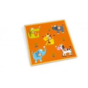 Puzzle Infantil De Animales Scrath