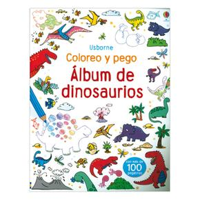 Coloreo,pego Album Dinosaurios