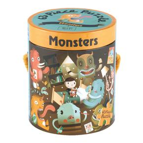Puzzle Monstruos