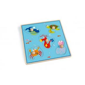 Puzzle Infantil Animales Marinos Scrath