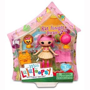Mini Mini Lalaloopsy Kat Lalaloopsy Jungle Roar F3l1KJcuT