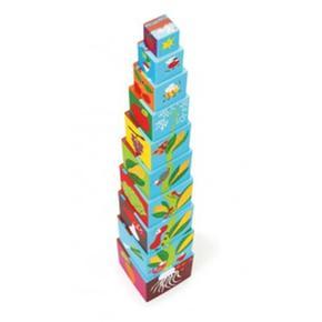 Torre De Cubos Apilables Scratch