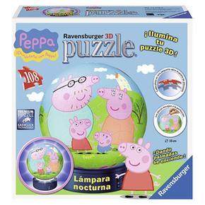 Peppa Pig Ravensburger PiezasLámpara Puzzleball 12248 108 3jqLA4Rc5