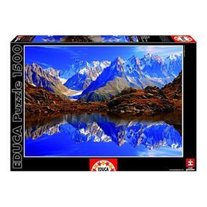 Educa Borrás – Puzzle 1500 Piezas – Chamonix Mont Blanc, Francia