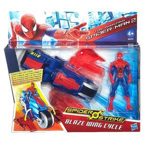 Blaze Vehículo Strike Cycle Spiderman Wing Spider yYf7g6b