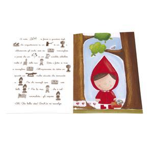 Cappuccetto Pegatinasspan Rosso Stickersspannbsp; Con nbsp;libro T1JlF3Kc
