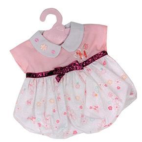 Nenuco Ropita Con Percha – Pelele Rosa Y Blanco