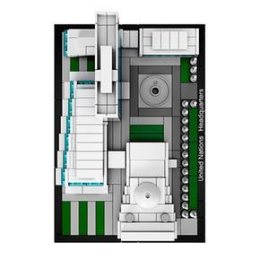Architecture Unidas Sede Naciones 21018 Lego De Yyf7vI6bg