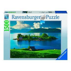 Isla Ravensburger Noruega Puzzle Piezas 1500 fb6yv7Yg