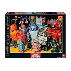 Educa Borrás 1000 Puzzle Robots Piezas 8n0wkOP