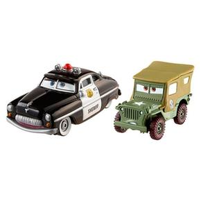 Cars Sheriff Y Sarge Coches 2 Pack zqUMSpV
