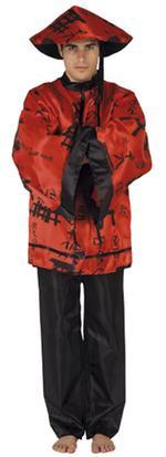 Disfraz Adulto Chino