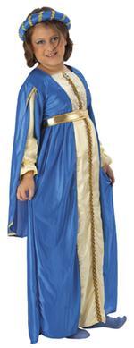 Disfraz Infantil Medieval Azul Talla L