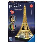 - Puzzle 3d Tour Eiffel Night Edition Ravensburger