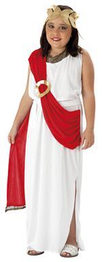 Disfraz Infantil Diosa Romana Talla L