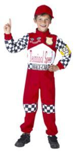 Disfraz Infantil Piloto De Carreras Talla L