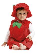 Disfraz Bebé Fresa