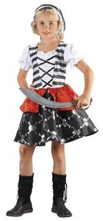 Disfraz Infantil Niña Pirata Talla L