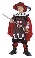 Disfraz Infantil Mosquetero Dartagnan Talla 11 A 13 Años