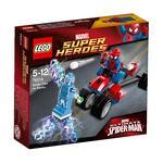 Lego Súper Héroes – El Trike Arana Vs. Electro – 76014