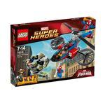 Lego Súper Héroes – Rescate En El Helicóptero Araña – 76016