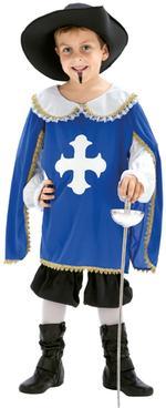 Disfraz Infantil Mosquetero Talla L