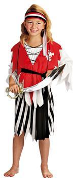 Disfraz Infantil Chica Pirata Talla L