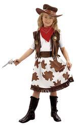 Disfraz Infantil Vaquera Talla L
