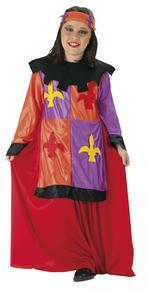 Disfraz Infantil Medieval Talla 9 A 10 Años