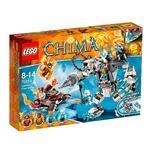 Lego Legends Of Chima – El Robot Perforador De Icebite – 70223