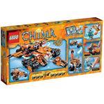 Lego Legends Of Chima – El Centro De Control Móvil Del Tigre – 70224