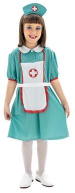 Disfraz Infantil Enfermera Talla L