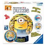 - Puzzle 3d – Lámpara, Minions Ravensburger