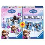 - 3 Puzzles Frozen + Set De Memoria Ravensburger