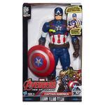 Los Vengadores – Capitán América Figura Titan Electrónica