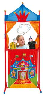 Teatro + 4 Marionetas Blancanieves