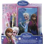 Frozen – Agenda Glitter Con Accesorios
