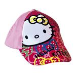 Hello Kitty – Gorra Roja/rosa T.52-54