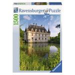 - Puzzle 1500 Piezas – Castillo De Azay- Le-rideau, Loire Ravensburger