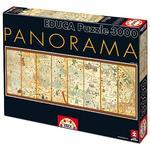 Educa Borrás – Puzzle 3000 Piezas – Mapamundi De 1375 De Cresques Abraham