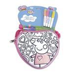 Color Me Mine – Peppa Pig – Bolso Sequeen Corazón/primavera (varios Modelos)