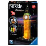 Ravensburguer – Puzzle 3d Big Ben De Noche