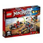 Lego Ninjago – Persecución En La Moto Ninja – 70600