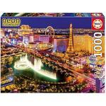 Educa Borrás – Puzzle 1000 Piezas Las Vegas Neón
