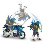 Tortugas Ninja – Leo – Vehículo Con Figura Película 2